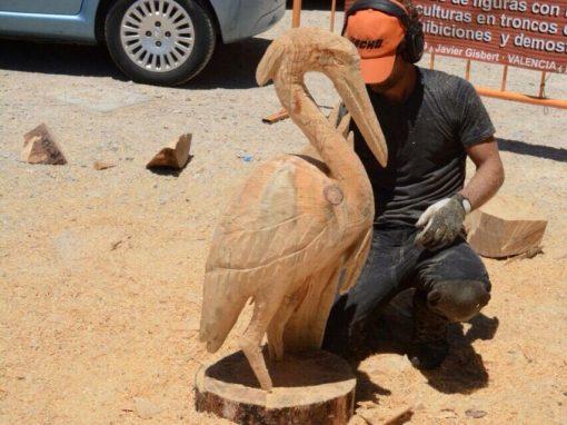 Escultura en vivo